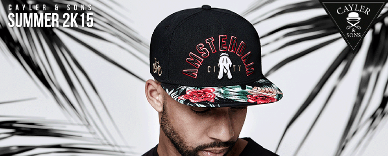Cayler & Sons amsterdam snapback
