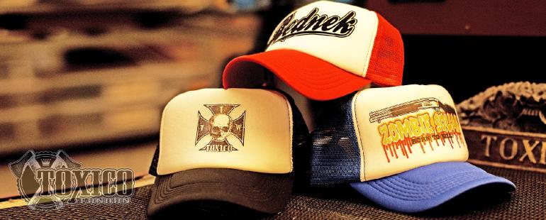 Toxico trucker caps bij Cap Kopen