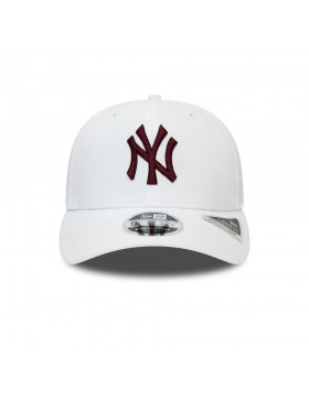 New Era 9Fifty Stretch Snap (950) NY Yankees - White/Maroon