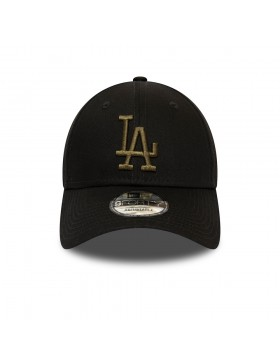 New Era 9Forty League Essential (940) LA Dodgers - Black/Green