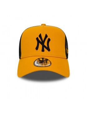 New Era League Essential AF Trucker cap NY Yankees - Yellow