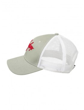 Milestone Relics Signature Trucker - Grey / White