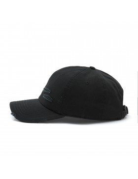 Cayler & Sons Ripped - Curved dad cap - black