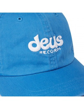 DEUS Curved Cap Records - blue - SALE