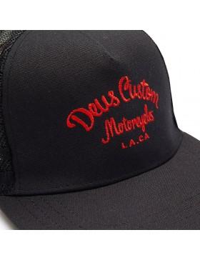 DEUS Harry Snapback cap - black