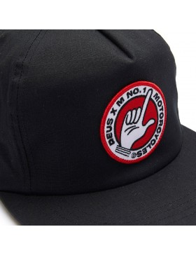 DEUS Murphy Snapback cap - black