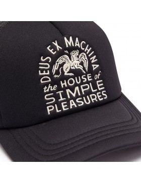 DEUS Pet Trucker HOUSE Pegasus - black