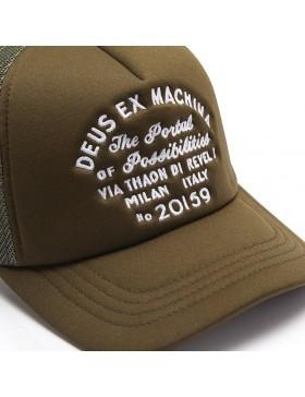 DEUS Pet Trucker Milan Address - green