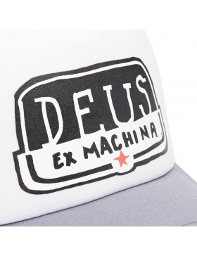 DEUS Pet Yeeha Trucker - white grey
