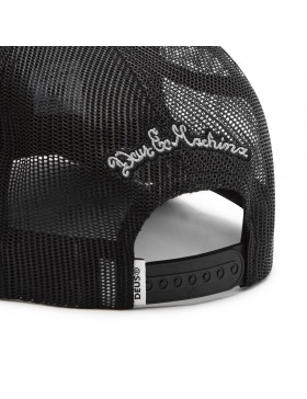DEUS Piston Shield 2 Trucker cap - Black white