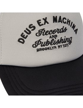 DEUS Pet Trucker R&P- white grey
