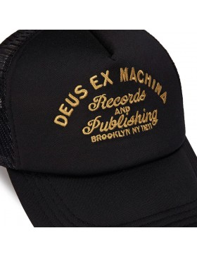 DEUS Pet Trucker R&P- black