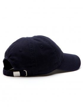 Lacoste pet - Big Croc Gabardine - navy blue