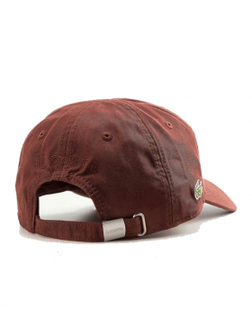 Lacoste pet - Gabardine cap - cevennes brown