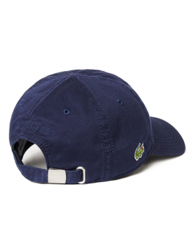 Lacoste pet - Gabardine cap - navy blue