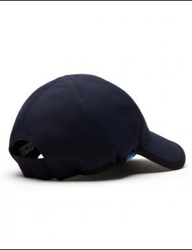 Lacoste pet - Texturized Sport cap - navy
