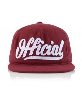 Official Cap Skate Logo Snapback - red