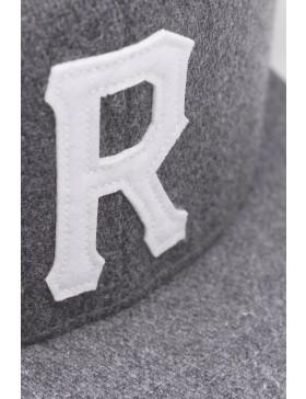 Reell 6 panel Homerun cap strapback grey