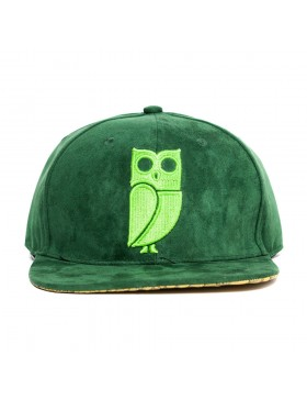 Veryus Clothing - Kakapo Snapback - Green