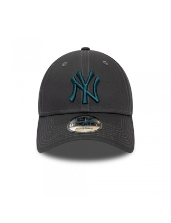 New Era 9Forty League Essential (940) NY Yankees - Grey/Blue