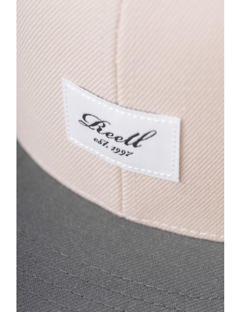 Reell 6 panel Pitchout snapback Wheat / GreyBlack