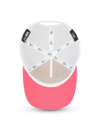 New Era Tonal Mesh Trucker cap NY Yankees - Fluor Pink