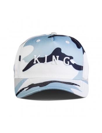 KING Apparel Aldgate Curve Peak cap - Sky Camo