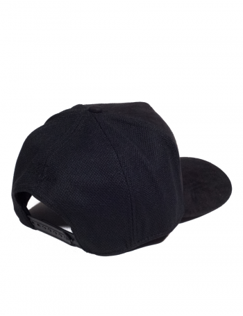 Veryus Clothing - Charybdis Suede Trucker Cap - Black