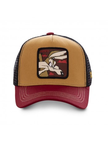 Capslab - Wile E. Coyote Trucker cap - Red
