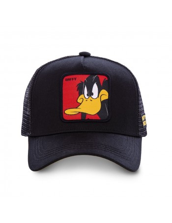 Capslab - Daffy Trucker cap - Black