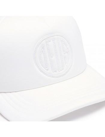 DEUS Pet Trucker Pill - white on white
