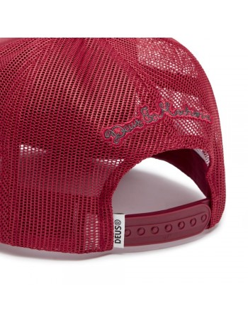 DEUS Moretown Trucker cap - Red