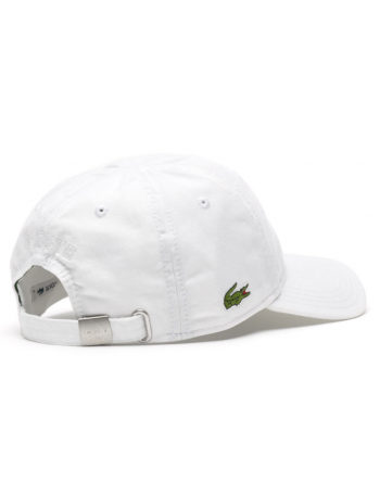 Lacoste pet - Gabardine cap - white