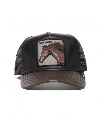 Goorin Bros. Your Majesty Trucker cap - Leather