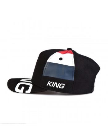 KING Apparel Manor Curve Peak cap - Black