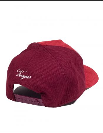 Veryus Clothing - Scylla Suede Trucker Cap - Red