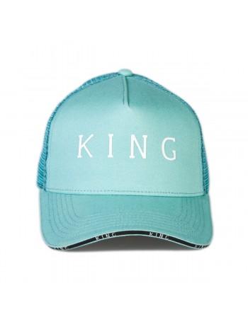 KING Apparel Stepney Curved Trucker cap - Mint