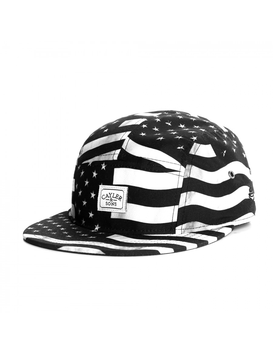 Cayler & Sons Flagged 5-Panel Cap