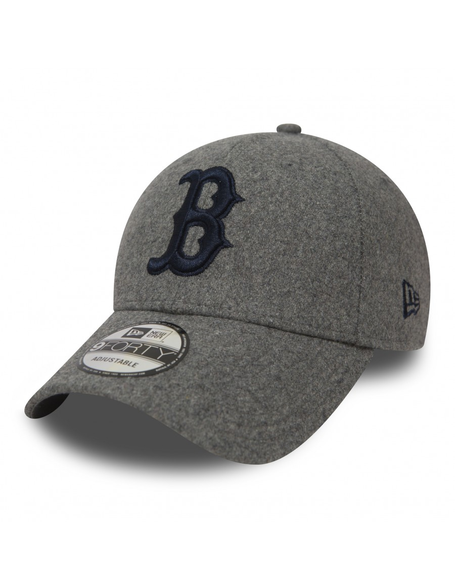 New Era 9Forty (940) Winter Utility Melton Boston Red Sox - Gray