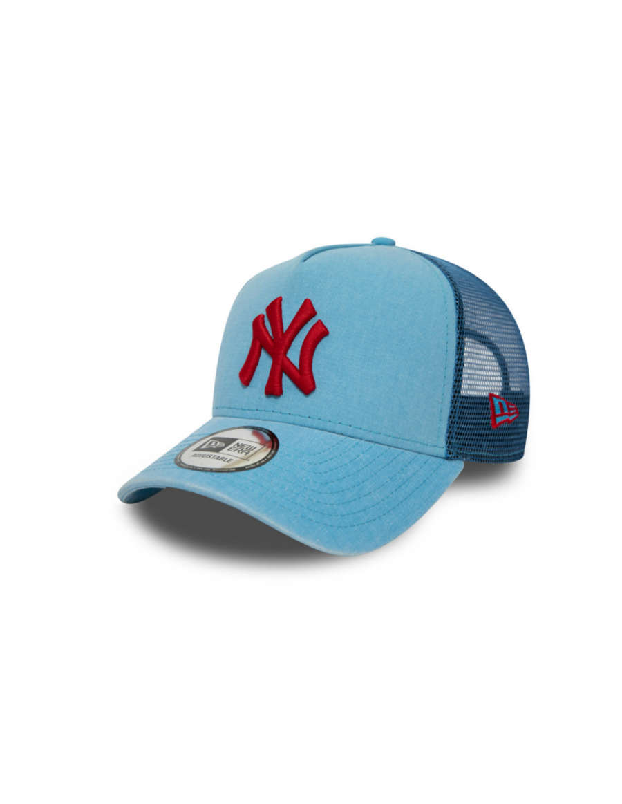 New Era Washed Trucker cap NY New York Yankees - Blue