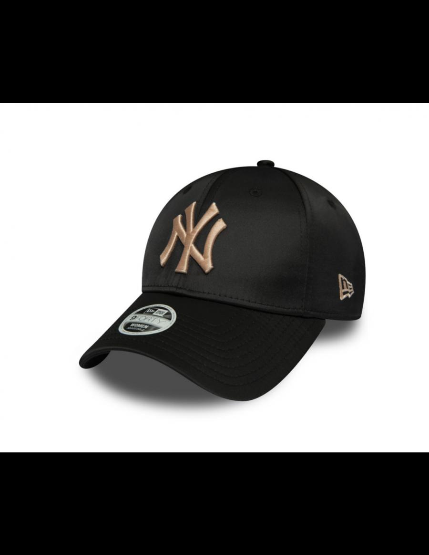 New Era MLB Satin Women's 9Forty cap NY New York Yankees - Black