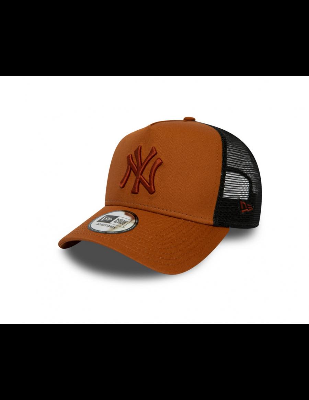 New Era Trucker cap NY New York Yankees - Orange
