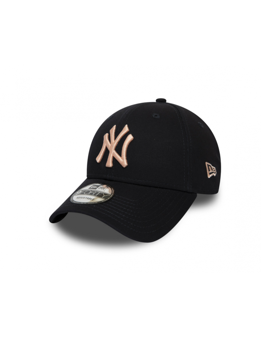 New Era 9Forty League Essential (940) New York Yankees Navy/Pink