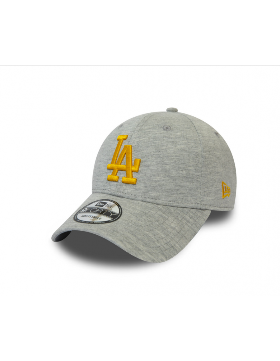 New Era 9Forty Jersey Essential (940) LA Dodgers - Grey/Yellow