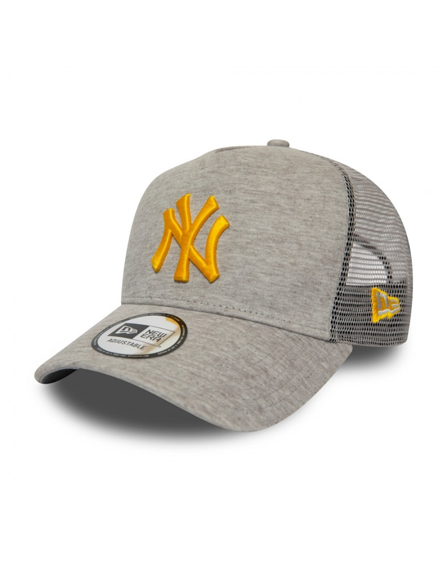 New Era Trucker cap NY New York Yankees - Grey/Yellow