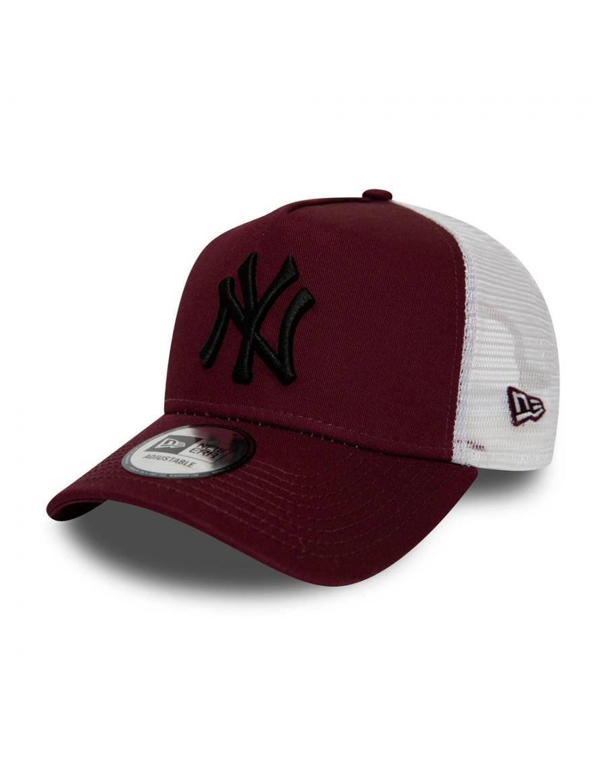 New Era Trucker cap NY New York Yankees - Maroon/Black