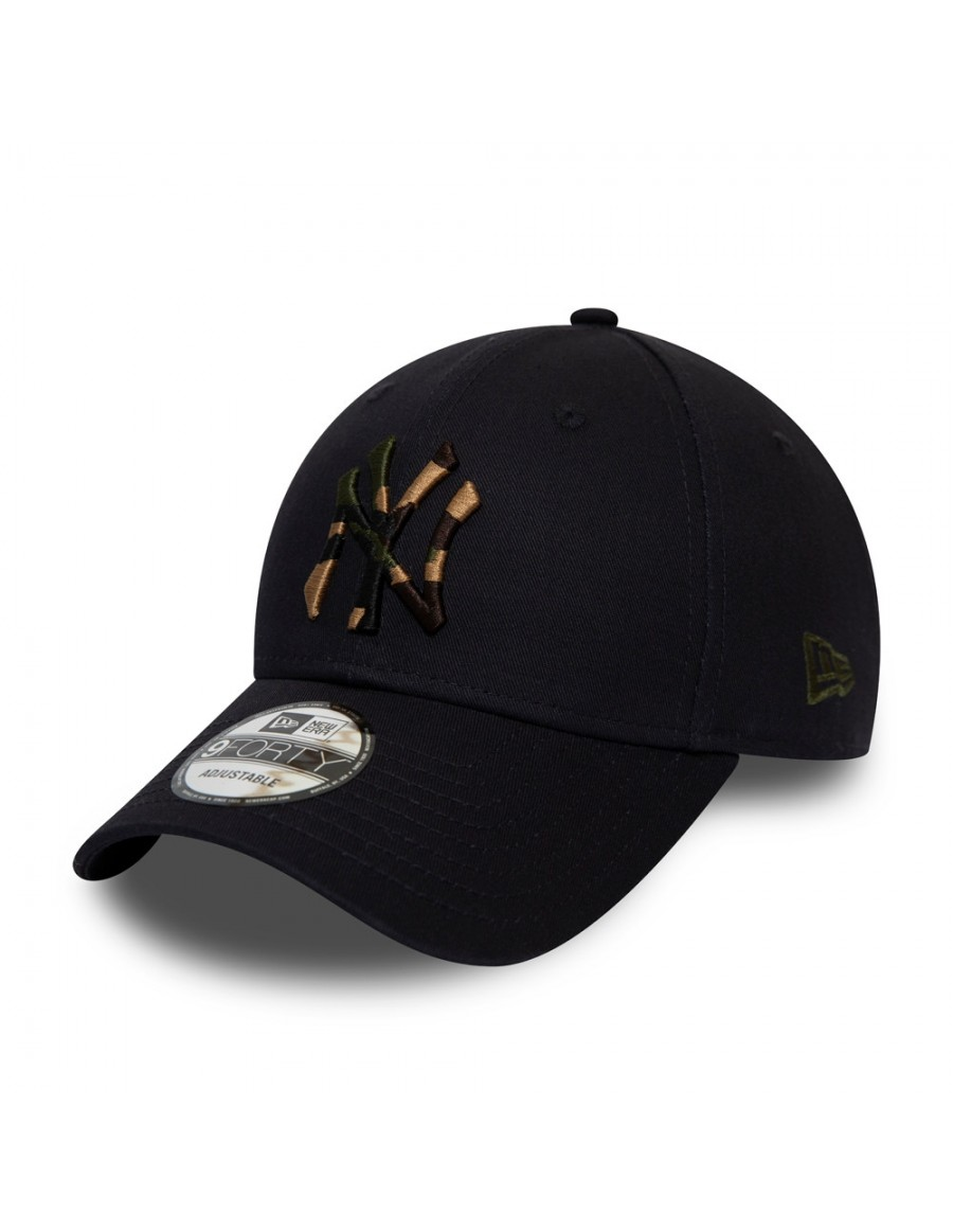 New Era 9Forty Camo Infill (940) NY Yankees - Navy