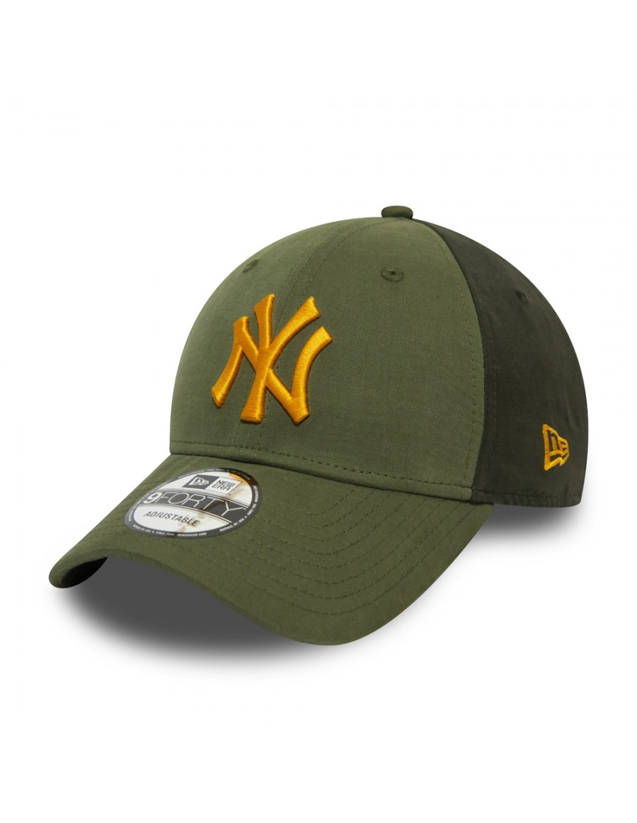 New Era 9Forty (940) MLB Multi Pop Panel NY Yankees - Olive
