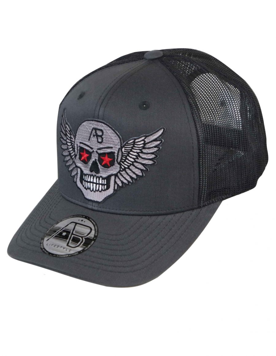 AB cap Retro Trucker - Airforce - dark steel