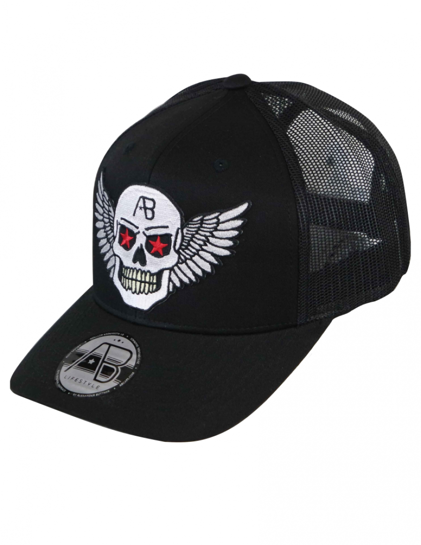 AB cap Retro Trucker - Airforce black - chrome edition